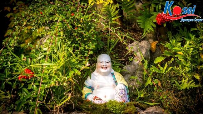 linh vật truyền thống nhật bản bố đại Hotei