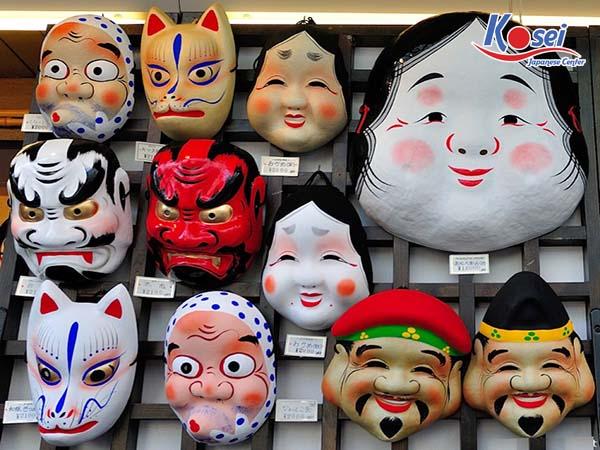 mặt nạ truyền thống nhật bản