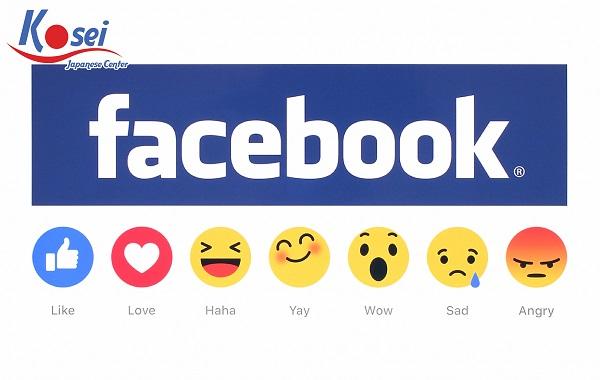 Biểu tượng cảm xúc Facebook bằng tiếng Nhật