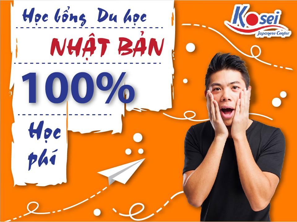 Học bổng du học Nhật Bản 100% học phí