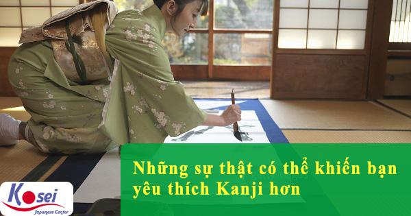 Những sự thật có thể khiến bạn yêu thích Kanji hơn