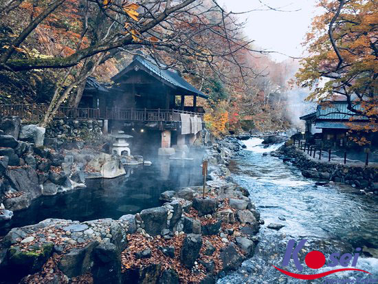 văn hoá tắm onsen