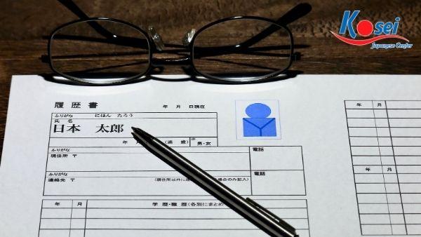sơ yế lý lịch du học nhật bản