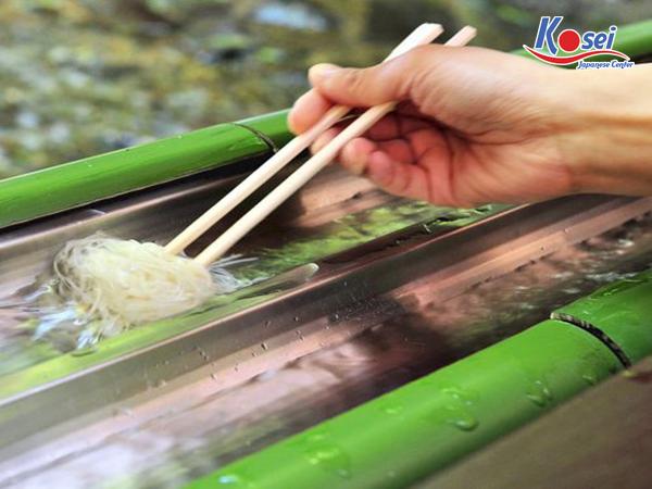 Mì lạnh Nhật Bản - Nagashi Somen lạ mà ngon quên sầu