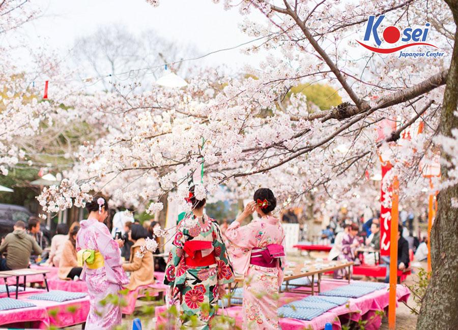 lễ hội nhật bản tháng 4