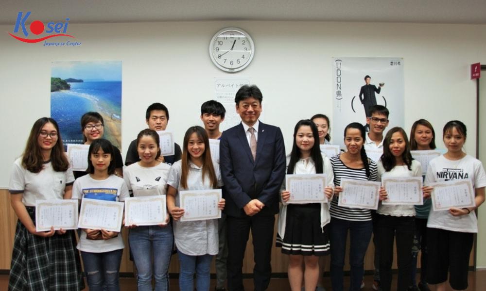 Giới thiệu khoa tiếng Nhật trường Chuyên môn Phúc lợi y tế Anabuki