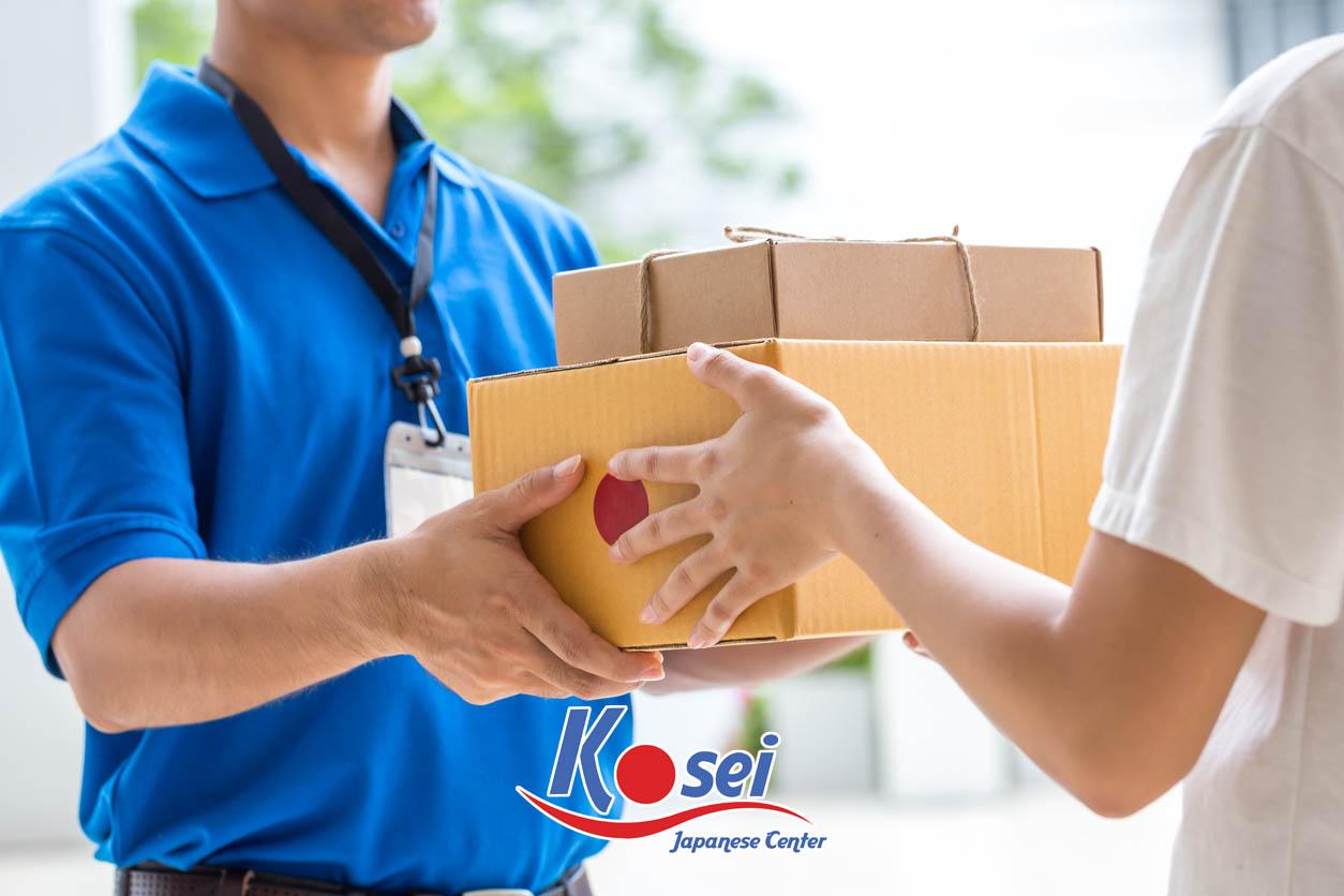 Từ vựng tiếng Nhật N3: Thư tín và giao hàng
