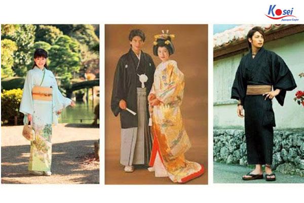 lịch sử và thiết kế của Kimono