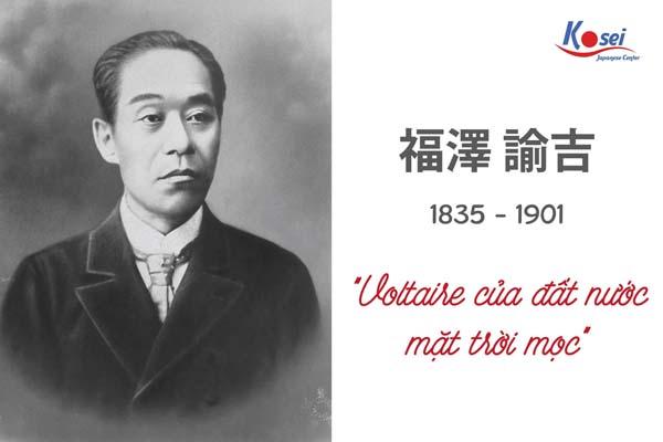 nhà tư tưởng Fukuzawa Yukichi