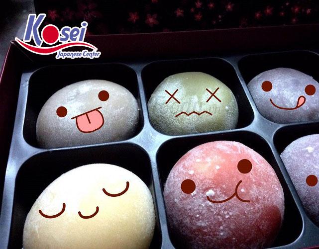 Các loại bánh mochi ở Nhật Bản