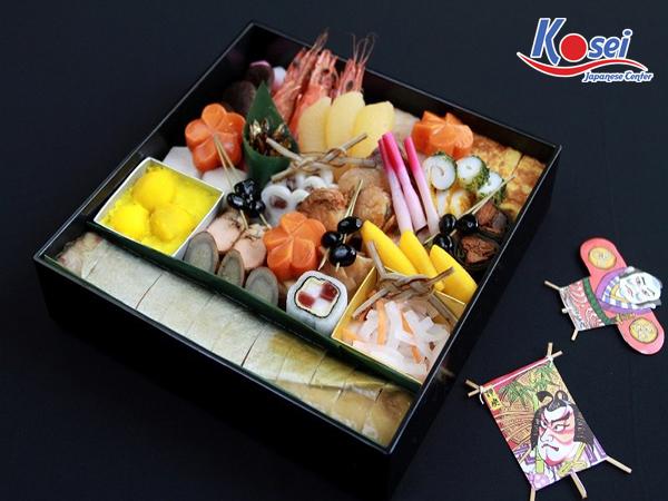 osechi ngày tết nhật bản